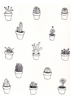 Plant Feelings Zine by Ashley Ronning Design #illustration