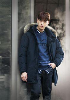 Asian Actors, Korean Actors, Jung Joon Young, Ji Chang Wook, Korean Artist, Dream Guy, Kdrama, Eye Candy, Bomber Jacket