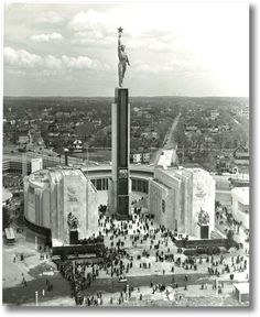 USSR Pavilion, New York World Fair, 1939