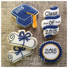 Doodlebug Cookies: Graduation Cap Cookies - tassel tutorial