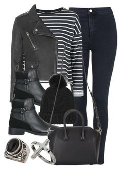 """""""Style #9456"""" by vany-alvarado ❤ liked on Polyvore featuring Topshop and Givenchy"""