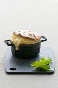 Recetas a la francesa: Soufflé de queso de cabra