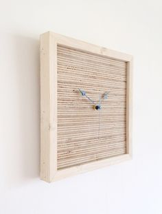 wall clock trending minimalist art natural wood and white housewares home and living unique wall clock wall clocks clocks and minimalist