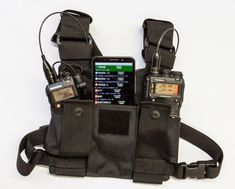 APRS For a lightweight portable station, all you need is a handheld transceiver, a tiny packet TNC, and an Android smartphone. For those unaware, APRS is Radios, Arduino, Portable Ham Radio, Ham Radio License, Chest Rig, Emergency Preparedness, Survival Aids, Survival Gear, Android Smartphone