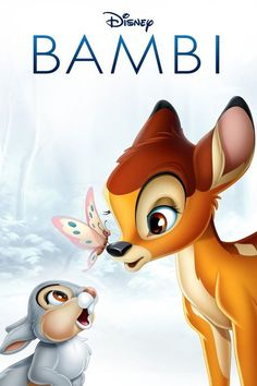 Disney movies l Disney Characters l Disney Princess n this Disney classic a young deer named Bambi joins his new friends, a rabbit named Thumper and a skunk named Flower, in exploring his forest home. As a boy, he learns from his doting mother and his fat Bambi Disney, Disney Love, Disney Kunst, Arte Disney, Disney Art, Lion King Pictures, Teddy Pictures, Disney Cartoon Characters, Disney Cartoons