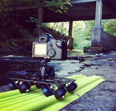 AirTracks: Inflatable All-Terrain Camera Slider