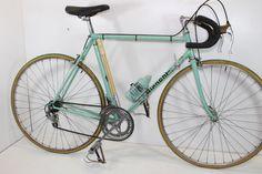 724128400 BIANCHI Sprint bici corsa epoca celeste Racing bike Campagnolo Vintage  eroica