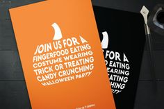 Halloween Invitations By Designs by Justin Lynch