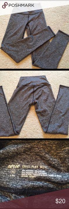 Aerie play legging Super soft legging I wore twice. No flaws! Size XS short aerie Pants Leggings