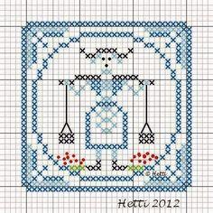Creative Workshops from Hetti: SAL Delfts Blauwe Tegels, Deel 10 - SAL Delft Blue...