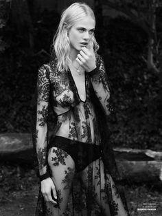 Obsession Magazine Photographer: Paul Wetherell Stylist: Barbara Loison Hair: Vi Sapyyapy Makeup: Violette Set Designer: Vincent Olivieri Model: Aymeline Valade