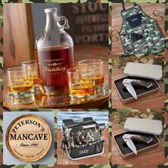 Rustic Country Gifts for the Groom... http://www.therusticshop.com/?store=CamoforGirls