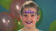easy face painting for kids | How To Do Face Painting: The Princess (Face Painting)