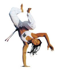 Women in capoeira. Suelly, Jô, Marrom, and Guerreira. Interesting article, but I think it talks around issues of men with power wanting to give other men power.