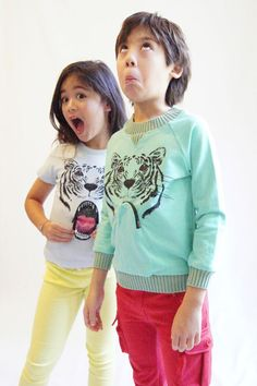 milk on the rock sweater ! the mouth zip !!! funny !