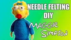 Needle Felting DIY - Maggie Simpson