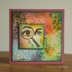 Corine's Gallery. Art Journey: Colourful Eyes