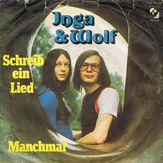 "Inga & Wolf - ""Schreib ein Lied"", german preselection for the Eurovision Song Contest 1973, place 3"