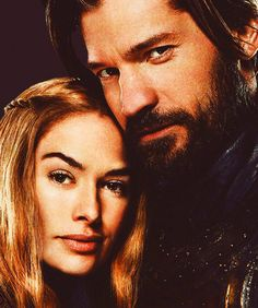 Queen Cersei and Ser Jamie Lannister. Game of Thrones