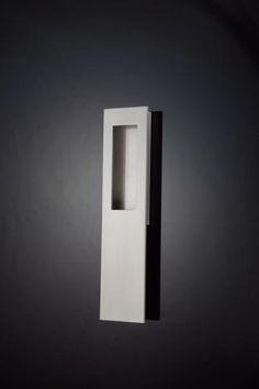 server door pul (stainless)   recessed door pull modern