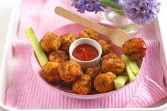 Chicken & apple balls - Annabel Karmel