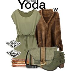 Inspired by Yoda from the Star Wars franchise.