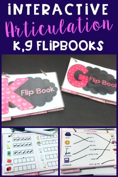 My students working on the phonological process of fronting love these! We get lots of articulation practice for /k,g/.