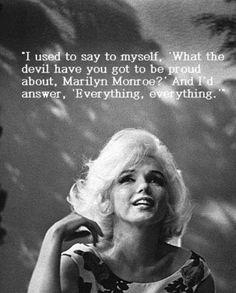 Wisdom of Marilyn Monroe