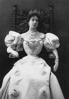 Baroness Olga de Meyer 1902. was a British-born artists' model, socialite, patron of the arts, writer, and fashion figure of the early 20th century. She was best known as the wife of photographer Adolph de Meyer and was rumoured to be the natural daughter of King Edward VII of the United Kingdom. In 1916 Olga de Meyer took the forename Mahrah upon the advice of an astrologer.