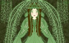 Elfa del salice piangente