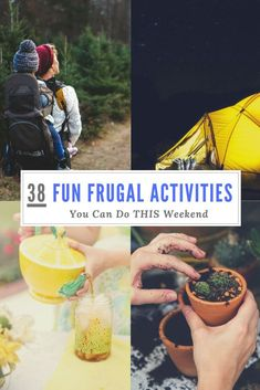 38 Fun Frugal Things You Can Do This Weekend! – Finance tips, saving money, budgeting planner
