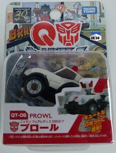 Prowl QT-06 Takara Tomy Q Transformers Series 01 Mini Figure - NEW #TakaraTomy