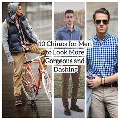 10 Chinos for Men to Look More Gorgeous and Dashing