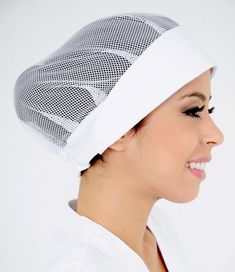 Hat Patterns To Sew, Easy Sewing Patterns, Cafe Uniform, Mouth Mask Fashion, Staff Uniforms, Head Scarf Styles, Mode Hijab, Trendy Tops, Diy Face Mask