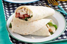 Ces roulés aux saveurs de la Méditerranée sont parfaits pour un repas rapide sur la route. Si vous vous ennuyez de votre boîte à lunch, vous en raffolerez.