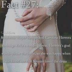 "465 Synes godt om, 13 kommentarer – Twilight Facts (@twilightfactss) på Instagram: ""~ QOTD: Did you like Bella's wedding dress? - Autumn…"""