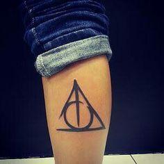 Tattoo relíquias da morte (HP)