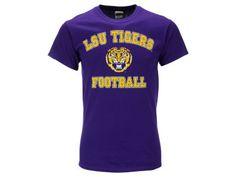 NCAA Men's Tiger Head Football Varsity Arch T-Shirt