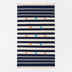Steven Alan striped rug
