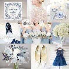 China Blue Wedding Inspiration | SouthBound Bride | Full image credits: http://www.southboundbride.com/inspiration-board-china-blue