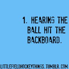 Little Field Hockey Things
