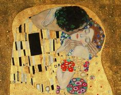 fine art print and hand painted oil reproduction of the painting The Kiss (detail), oil painting of Gustav Klimt The Kiss, Painting Prints, Wall Art Prints, Canvas Prints, Puzzle New York, Oil On Canvas, Canvas Art, Canvas Size, Modern Artwork