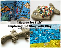"""Sun Hats & Wellie Boots: """"Hooray for Fish!"""" - Exploring the Story with Clay..."""