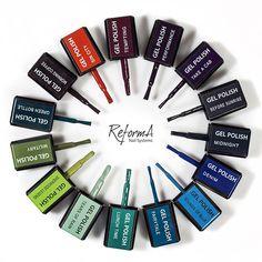 #reformanails #springisintheair #springgelpolish #nailsupplies #beautysupplies #salonsupplies #brightpolish #brightnails Gel Polish, Wish, Cosmetics, Mood, Nails, Colors, Happy, Instagram, Ongles