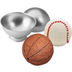 Set de moules 3D ballon de sport
