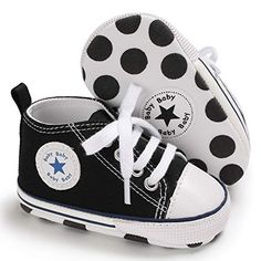 Voberry Baby Girl Boys Soft Sole Crib Toddler Anti-Slip Cute Stars Sneakers Boots Shoes