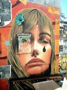Unknown - street art - Marseille 6 / cours julien, rue crudere (aout 2014)  #Street Art #streetart #graffiti #street art