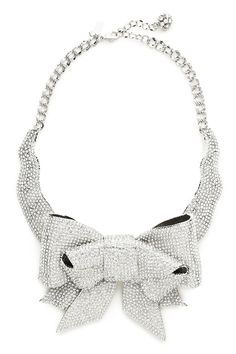 kate spade new york - pave bow collar