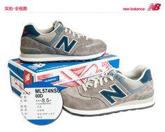 2013 nuevos zapatos de los hombres auténticos NewBalance New Balance zapatillas retro ML574NMA