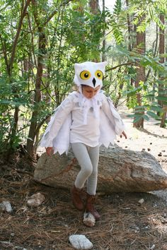 hedwig the owl costume diy - Google Search